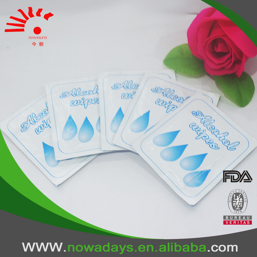 High Quality Oem Antiseptic Isopropyl Alcohol Wipes