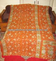 Best Deal Today~Decorative Vintage Kantha Sari Patchwork Throws