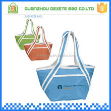 Outside 10 cans polyester thermostat bag cooler bag