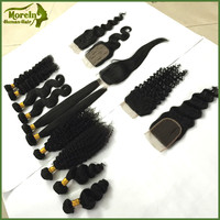 100 virgin Indian hair Kinky curl hair weave remy human hair