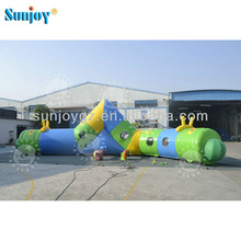New reptile inflatable Obstacle Racing Game Outdoor Indoor toys tunnel rental