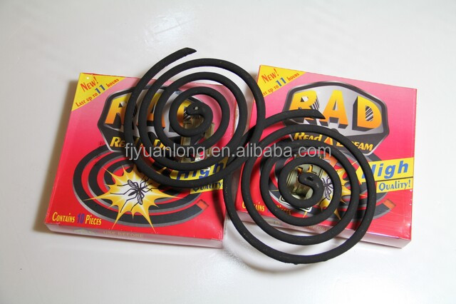 Jinjiang Factory Wholesale Micro-smoke / Smokeless Cheap Black Mosquito Coils