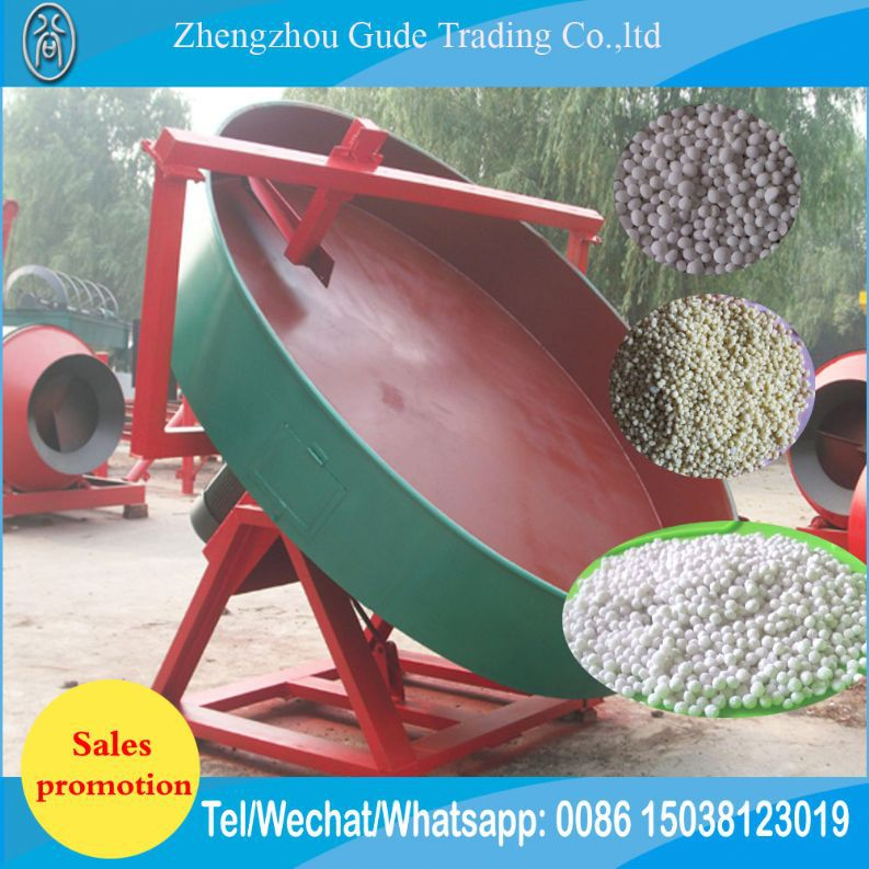 Poultry Waste Cow Dung Chicken Manure Organic Fertilizer Dap Nitrate Disc Fertilizer Granules Pellet Making Machine