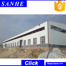 prefab steel structure fabrication workshop buildings layout