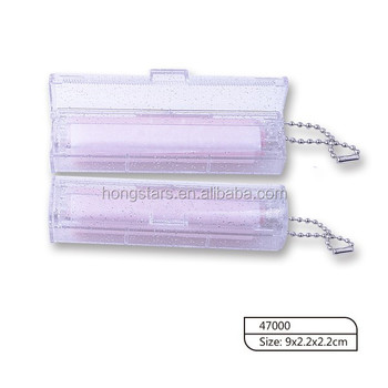 Latest Style Clear PS Case Oil Absorbing Paper For Face
