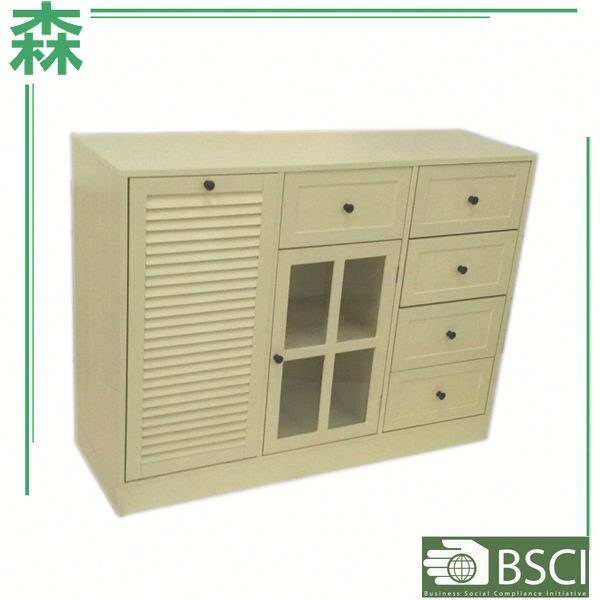 Yasen Houseware Outlets Top 500 Alibaba China,White Sideboard,Painted Buffet Cabinet