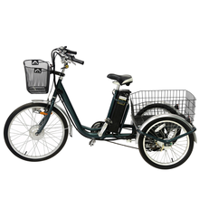 Hot sale 24inch 3 wheel electric cargo bike