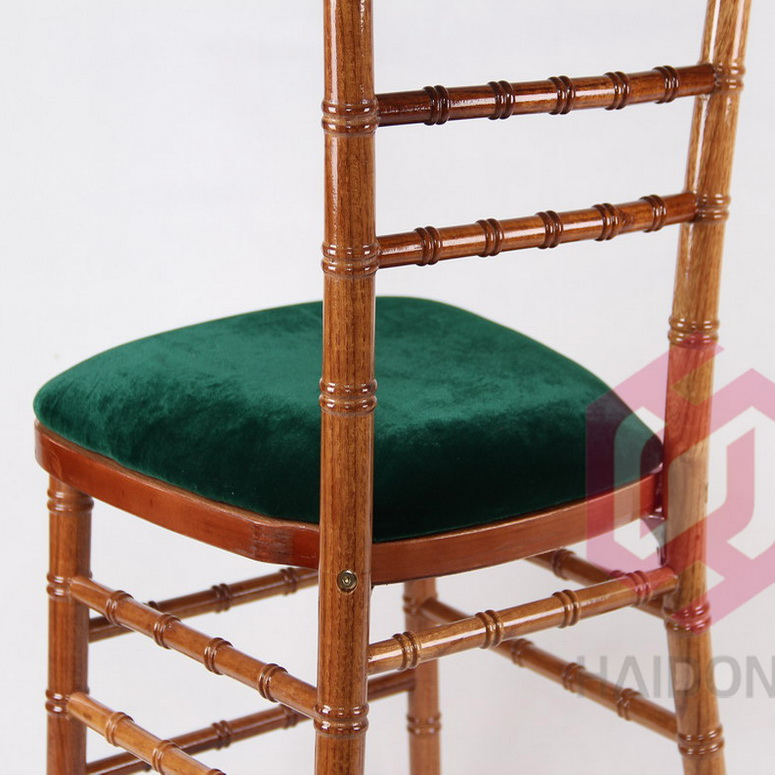 HAIDONG Velvet Charpie Fabric Green Color Seat Pad