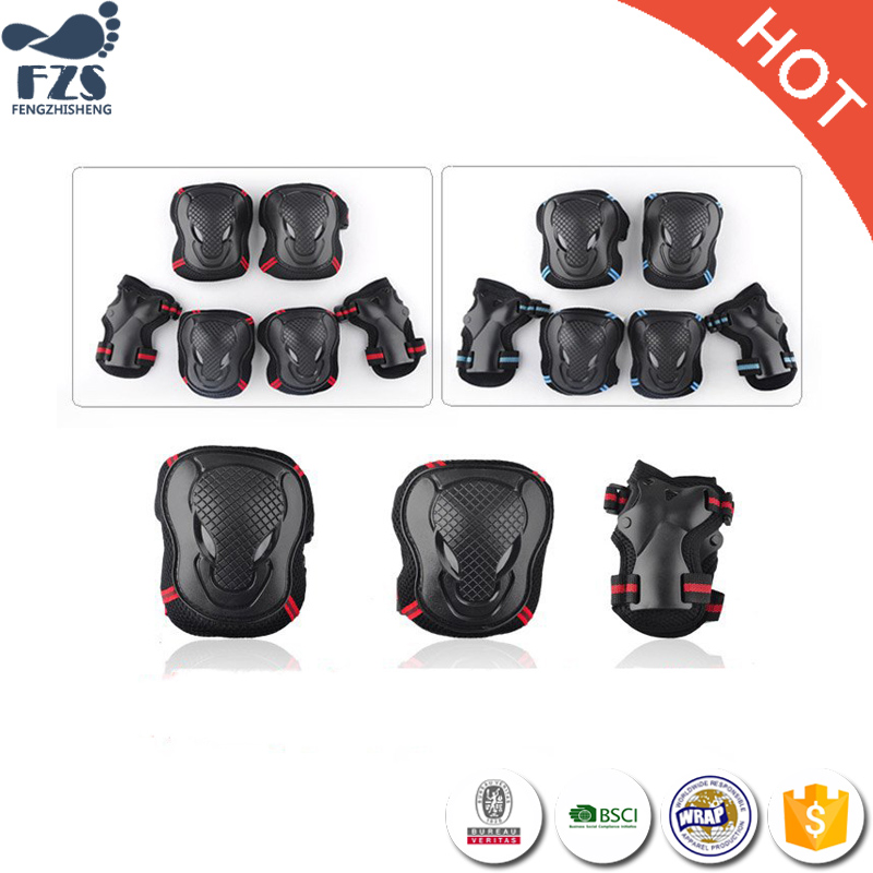 7 full set support knee head protection sets arm sports protection gear
