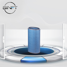 SINFT Industrial Cylindrical Centrifugal Generator Air Filter