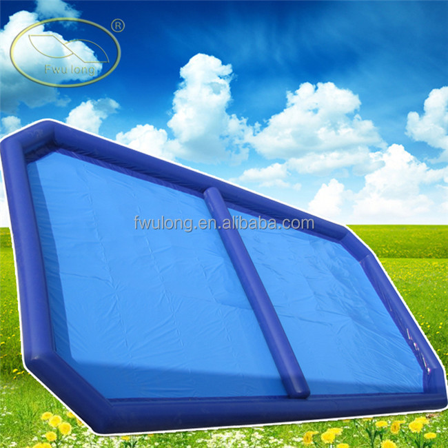 Customized Size inflatable adult swimming pool inflatable square swimming pool