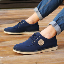 Men casual canvas shoes in stock high quality low price