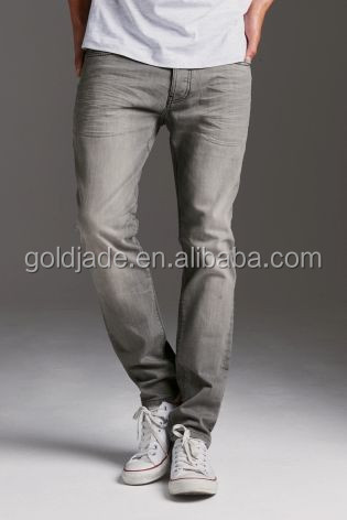 2015 alibaba denim jean,Grey Wash Jeans With Stretch