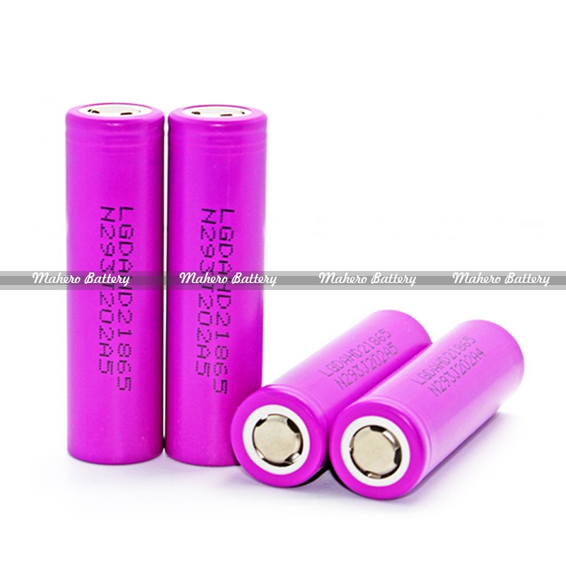 Hot LG HD2 3.7V 10A Discharge Current 2000mAh Purple Color LGDAHD 21865