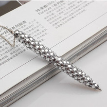 Hot sale promotional white crystal cord pen