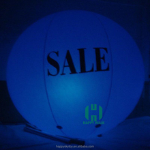 Guangzhou Wholesale Large LED advertising inflatable flying light helium balloon