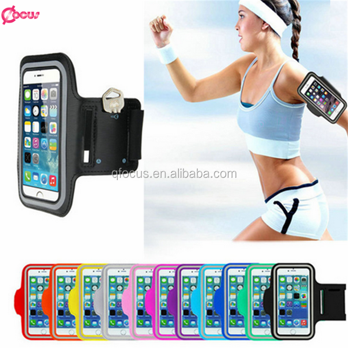 Smart phone sport armband for Iphone 6 armband waterproof case