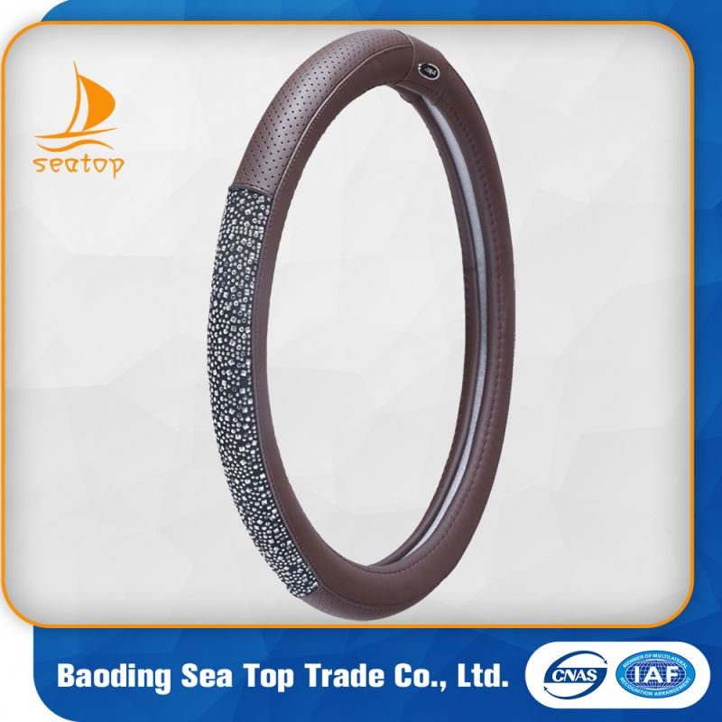 fashion hot cheap disposable plastic car steering wheel cover