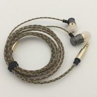Cheap custom wired stereo headphone headset
