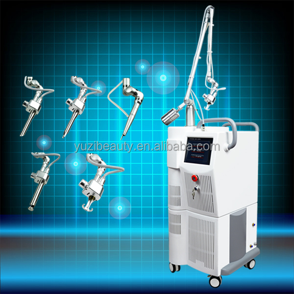 GHY Beauty Body co2 fractional rf laser machine for photo rejuvenation Shrink pores