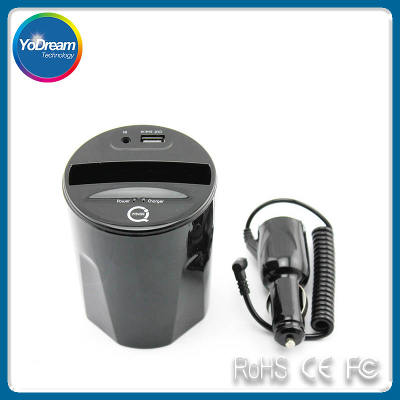 Car Charger Cup Holder Wireless Charger C3 Qi for Samsung ,Google and Other Qi-Enabled Phone