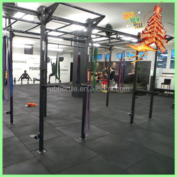 1000mmx 1000mmx 20mm Rubber Gym Flooring/Crossfit Rubber Flooring