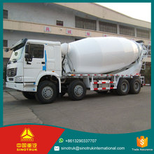 Wholesale Products HW15710 , 10 forwards and 2 reverse Transmission 8*4 8 cubic meters concrete mixer truck