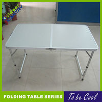 fold in half table 1.2m long folding table thin folding table