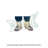 Aluminized Safety Spats ( SUP-PPE-IHPGA-SP-708-2 )