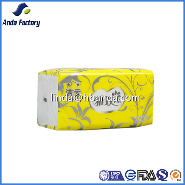 Eco-friendly sanitary napkin packaging bag