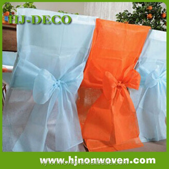 Disposable Polyester Chair cover and Bow