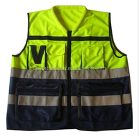 High light cheap reflective safety vest motorcycle