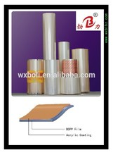 Hot selling product acrylic coated pet film rolls china manufacture