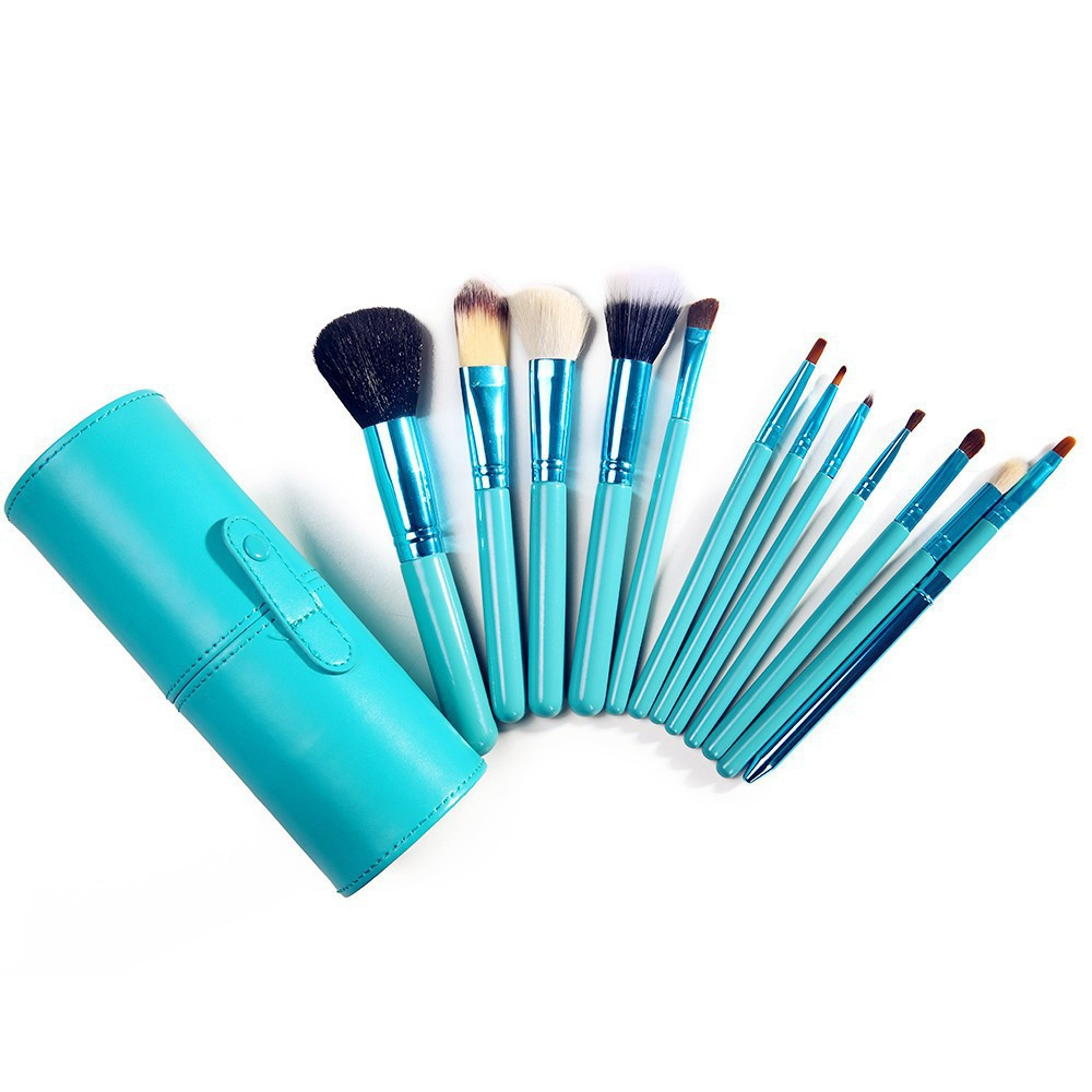 Bona 12Pcs Make Your Own Brand Name Canister Makeup Brush