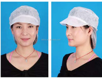 Food processing Disposable PP snood cap