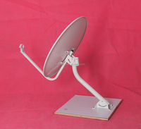 KU 90cm tv satellite dish antenna with big foot