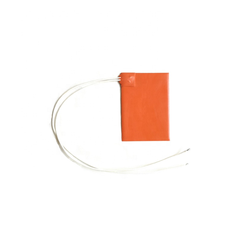 69*120mm Silicone rubber heater for Refrigerator 22 mm diameter fluorine tube <strong>heating</strong>