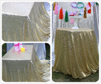 Wholesale luxury wedding party sequin table cloth