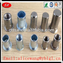 Dongguan cheap brass rivet,tube rivet,aluminum rivet prices,ISO9001:2008 passed