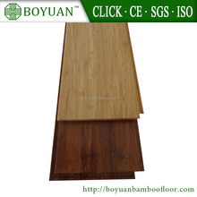 Carbonized solid bamboo flooring with click lock