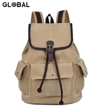 China Suppliers Canvas Teenager School Bag