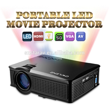 1500 Lumens SD50 Plus Portable Led projector Mini home theater projector 1080p better than unic uc40 UC46 hd projector