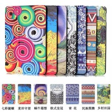High quality Flip Leather Case for iPad Mini4 , for ipad mini 4 case leather , for apple tablet accessories