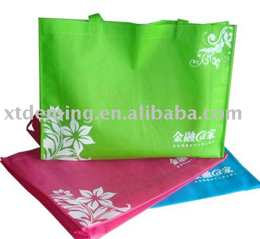 Disposable Non-woven Customized Colorful Shopping Bag for Promotion