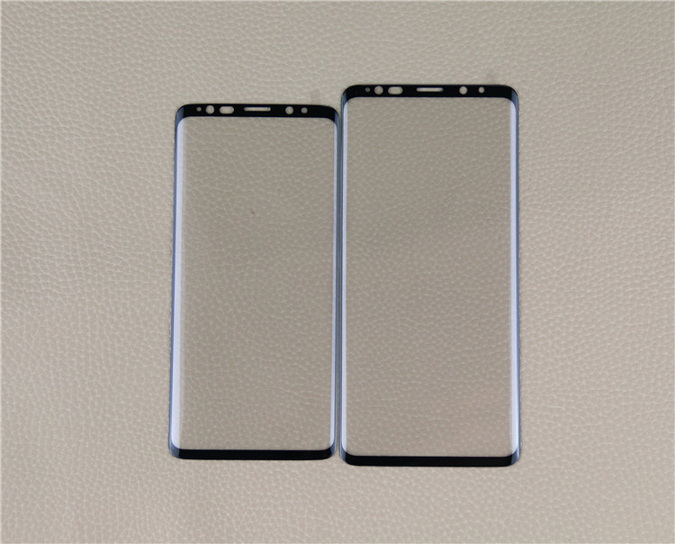 for Galaxy S9 3D tempered glass screen protector film / good price/ Factory price!
