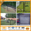 Galvanized & pvc used 9 gauge high quality chain link fencing