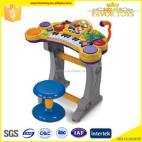 Multi-function kids toys plastic musical instruments learn piano keyboard