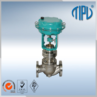 low pressure flow control steam valve for oil and gas