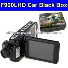 "F900LHD HD Car DVR Video HD 1080P + 12 Mega Pixels+2.5"" LTPS TFT LCD+Wide Angle 120 Degree"