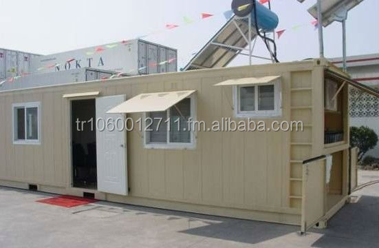 fast assemble container home